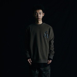 스웨트 셔츠 011 LOGO SWEAT SHIRTS (KHAKI)