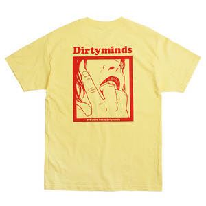 반팔티 DIRTY PLAYER TEE (YELLOW)
