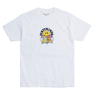 반팔티 DIRTY SMILE TEE (WHITE)