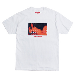 반팔티 CENSORED TEE (WHITE)