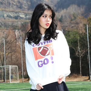 크루넥 긴팔티 AFB CREWNECK TEE (WHITE) - CFA10602