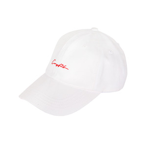 LOGO BALL CAP (WHITE) - CFA30101