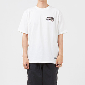 써드위브 반팔티 DISTRIBUTOR ROUND T-SHIRT / OFF WHITE