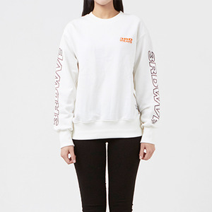 크루넥 긴팔티 OBLIQUE CREW NECK / OFF WHITE