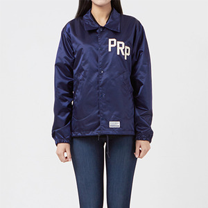 코치자켓 PRP SATIN COACH JACKET / NAVY