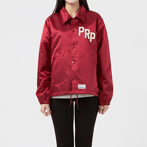 코치자켓 PRP SATIN COACH JACKET / VARSITY RED