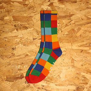 DOLLA BILLS CREW SOCK (MULTI) - HFA17SK002ML