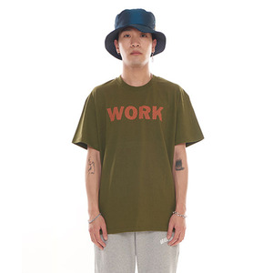 반팔티 [그라스하퍼] GRASSHOPPER NO WORK T-SHIRT_KHAKI