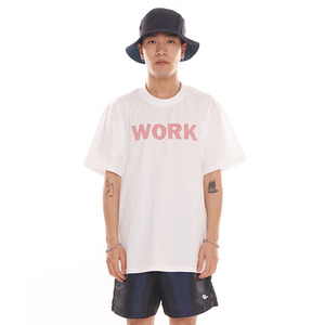 반팔티 [그라스하퍼] GRASSHOPPER NO WORK T-SHIRT_WHITE