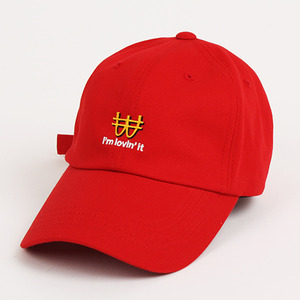 볼캡 GOLD DIGGER CAP(RED)
