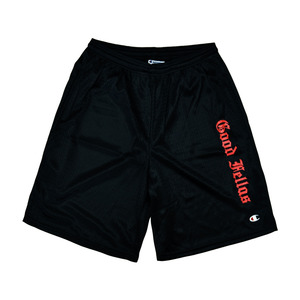 [굿펠라즈] Goodfellas Champion Mesh Shorts Black 반바지/쇼츠