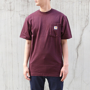 [칼하트] 포켓 반팔티Workwear T-Shirt (PORT) - CHTK87PO