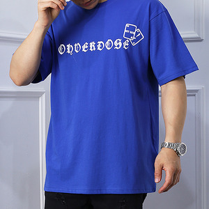 OVDS Image Short Sleeve (ST-03) Blue 오버도스 숏슬리브 (ST-03) 블루