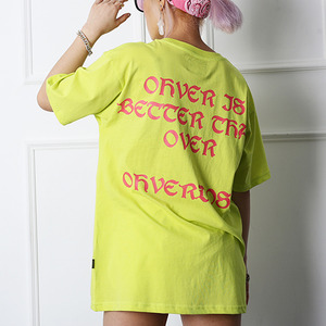 OVDS Logo Short Sleeve (ST-01) L/Lime 오버도스 숏슬리브 (ST-01) 라임