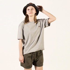 [Lebenea] Lovely Salmon tee - Grey