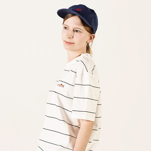 [Lebenea] Lovely Salmon tee - Stripe