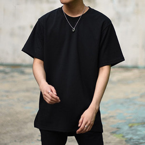 [IYD] 1/2 SHORT SLEEVES - black