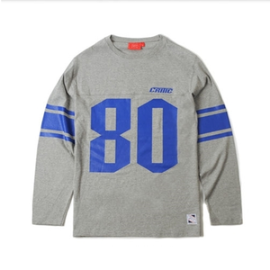 크리틱 긴팔티 80 FOOTBALL LONG SLEEVES (GREY) - CTOFARL01MGY