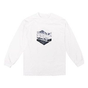 [빅스텝 단독] 켈란 긴팔티 PENTAGON LONG SLEEVE TEE (WHITE) - K7FWLS01