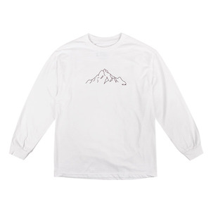 [빅스텝 단독] 켈란 긴팔티 MOUNTAIN LONG SLEEVE TEE (WHITE) - K7FWLS04