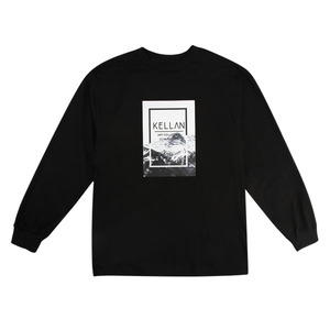 [빅스텝 단독] 켈란 긴팔티 QUADRANGLE LONG SLEEVE TEE (BLACK) - K7FWLS08