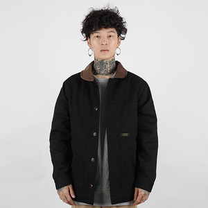 [로커드] HEAVY WORK JACKET (BLACK)