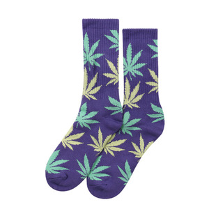 [허프] PLANTLIFE CREW SOCK (PURPLE) - HFSPSK050 [허프 HUF 양말]