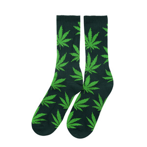 [허프] PLANTLIFE CREW SOCK (DEEP GREEN/APPLE) - HFSPSK023 [허프 HUF 양말]
