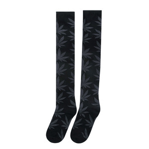 [허프] PLANTLIFE KNEE HIGHS SOCK (BLACK/CHARCOAL) - HFSPSK054 [허프 HUF 양말]