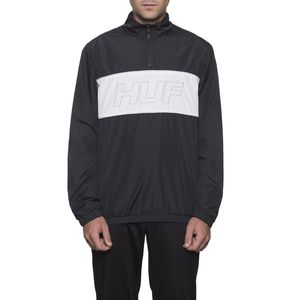 [허프] STADIUM HALF ZIP TRACK JACKET (BLACK) - HF17WJK00070BLK빅스텝 [허프 HUF 집업자켓]