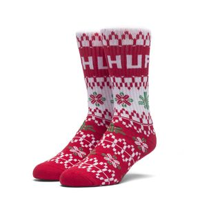 [허프] HUF HOLIDAY SWEATER SOCK (RED) - HF17WSK00177RED [허프 HUF 양말]