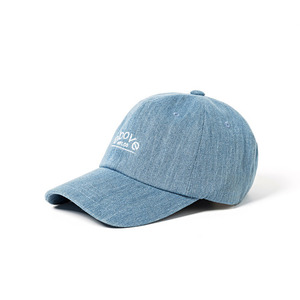 [ABOVE] DENIM ROUND LOGO BALL CAP/야구모자 볼캡
