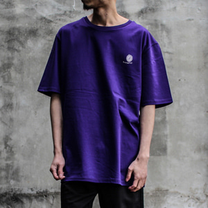 [디콤파스] LOGO OVERFIT T-SHIRT(PURPLE)