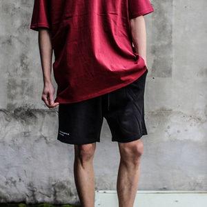 [디콤파스] RELAXING BANDING SHORT PANTS(BLACK)