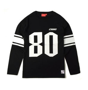 크리틱 긴팔티 80 FOOTBALL LONG SLEEVES (BLACK) - CTOFARL01MBK