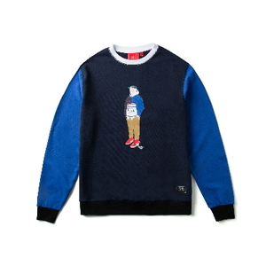 크리틱 스웻셔츠 맨투맨 CHICKEN KILLER CREWNECK (BLUE) - CTOIACR04UBL