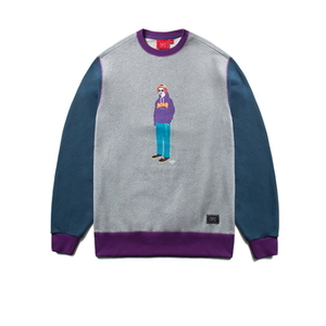 크리틱 스웻셔츠 맨투맨 PSYCHO BUTCHER SWEAT SHIRT (C4) - CTOSPCR01UC4