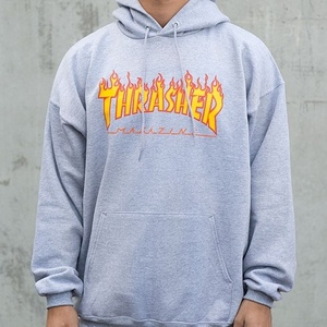 FLAME HOOD(GREY) - THR_FLAMEHD02